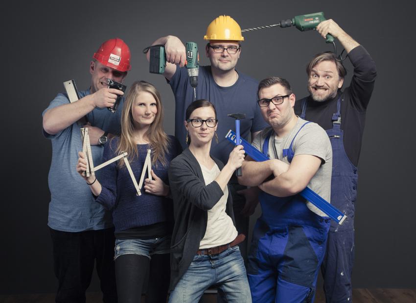 Team des Leipziger Fotomarathon